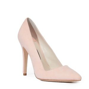 Alice + Olivia Dina Suede 95mm Pumps Whipstitch